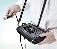 Portable Ultrasound Scanner System Machine Animal Veterinary Probe case Outdoor