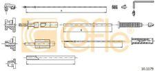 COFLE Gaszug 101179 für PEUGEOT