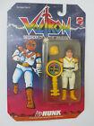 Vintage 1984 Voltron Hunk Figure MOC Mattel Yellow Lion Pilot