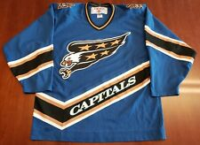 Washington Capitals Vintage CCM Jersey Screaming Eagle