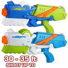 2 Pack Large Water Guns 2 Pack - Water Blaster Squirt Gun for Toddle and Kids