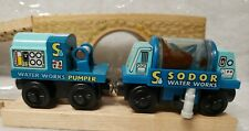 Thomas the Train Sodor Water Pumper And Tanker Learning Curve Wooden