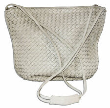 White Woven Handbag Owned by Screen Legend Greta Garbo