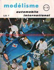 Catalogue Modélisme 1971 ; RENAULT Alpine A310 ; Tank ARL 44 ; AUSTIN Mini MOKE