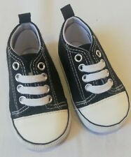 Immaculate Condition Baby Boys Laces Up Shoes Blue Trainers Size 2