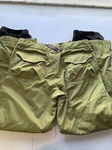 B by BURTON Women's Ski Pants Green Size Med