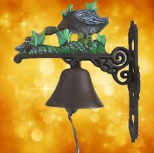 Wall Bell Cast Iron Duck Gate Door Bell Gescher Sounds Gut Vintage Dekogeschenk1