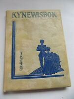 1949 Kynewisbok GUTHRIE HIGH SCHOOL Yearbook Annual Guthrie Oklahoma