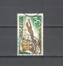 NIGERIA 181 - ANIMALI LEOPARDI 1965 - MAZZETTA DI 5 - VEDI FOTO