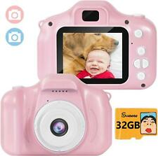 Toys Kids Camera Digital for Girls Gift 3 4 5 6 7 8 9 10 Year Old Birthday Prese