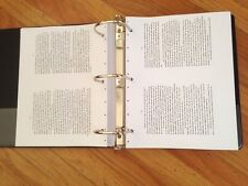 A Course In Miracles URTEXT ACIM original, typed, in 3-Ring binder
