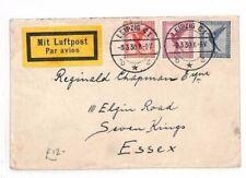 German Aviation German & Colonies Cover Stamps