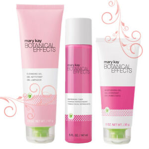 Mary Kay Botanical Effects Regimen Set With Dragon Fruit and Aloe All Skin Types