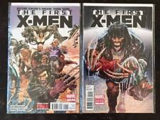 First X-Men #1 Comic book lot, 2 Issues Marvel,   NM, Vol. 1, 2012, Variants
