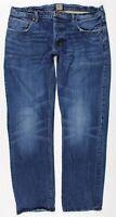 Prps Barracuda Blue Jeans MENS 38 x 34 Medium Wash Selvedge Button Fly