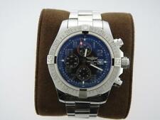 BREITLING Avenger Chronograph Automatic Chronometer BLUE Dial Men's Watch A13371