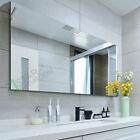 1500x900MM WALL MIRROR Bathroom Pencil Edge Shaving Glossy Vanity Large Bedroom
