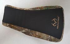YAMAHA BIG BEAR 400 REALTREE seat cover black gripper & camo 2000  BLK/STITCH