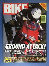 BIKE - November 1995 - Honda VRX400 - Harley XL1200S Sportster Sport - CBR600F