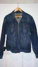 GAP Jeans Jacket Large Dark Blue Cotton