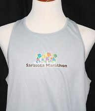 Sarasota Marathon Asics Mens Xl Running Performance Tanktop Gray Sleeveless