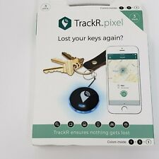 TrackR Pixel Item Finder 3 Pack Gray Black White - New In The Box