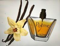 POEME LANCOME edp spray 20 ml left women perfume NO CAP