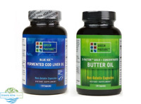 Green Pasture Caps Bundle (Fermented Cod & Butter Oil) | over 5% off