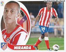 04 MIRANDA BRAZIL ATLETICO MADRID FC.SOCHAUX STICKER CROMO LIGA 2013 PANINI