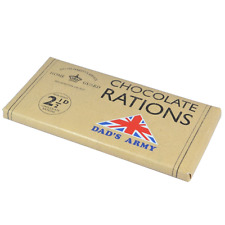 Dad's Army ' Chocolate Rations! ' Bar Chocolate Gift Him Christmas Fathers Day