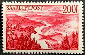 Saar, French Protectorate of Germany Post WWII, Scott C11, Michel 254, MLH, F-VF