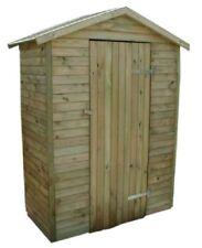 Arpino - Casetta da giardino per gli attrezzi in legno di pino impregnato.