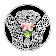 Belarus 20 roubles silver 2010 proof walking age