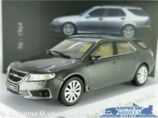 SAAB 95 SPORT COMBI ESTATE MODEL CAR MUSEUM GREY 9-5 1:43 IXO ATLAS 3898029 K8