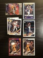 Anthony Davis Lot Donruss Optic Base And Hyper Pink Lakers