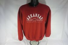 Red Oak - Arkansas Razorbacks - Crewneck Sweater - Size Large