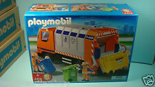 Playmobil 4418 city life series Garbage Truck Recycling mint in BOX New