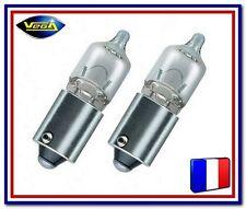 """2 Ampoules Vega® """"Maxi"""" Veilleuse H6W BAX9S HAUTE LUMOSITE 125 Lumens 12036"""