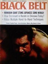 RARE 4/68 BLACK BELT JESSE KAUHAULUA SUMO KARATE KUNG FU MARTIAL ARTS