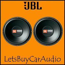 "JBL cs1214 12 "" 1000 Voiture Watt Caisson de basse double face"