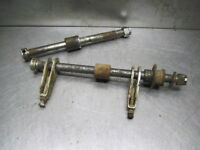 Honda 76 XL175 Axles Front & Rear w/ Chain Adjusters