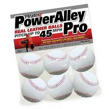 Heater Sports Power Alley White Leather Balls