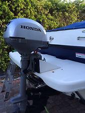 Outboard Motor Bracket For Swim Platform white