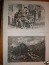 Cared and Uncared For 2 Soldier prints Huard & Regamey