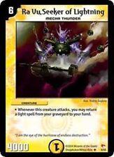 Duel Master TGC Ra Vu, Seeker of Lightning,DM03,Rampage of the Super Warriors