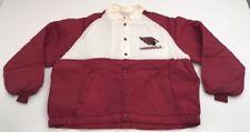 NEW Vtg Arizona Cardinals Swingster Nylon Jacket NWOT Button Up XXL Deadstock