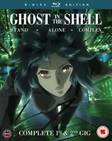 Ghost in the Shell Stand Alone Complex Complete Series Collection - Blu-ray