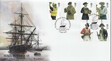 GB 2009 ROYAL NAVY UNIFORMS BUCKINGHAM COVERS OFFICIAL FDC