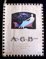 Art Goût Beauté Juillet 1922 Revue de mode Art-Déco Feuillets Elegance Féminine