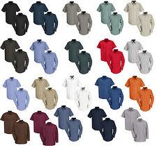 NEW! Red Kap Industrial Work Uniform Irregular Shirt Short / Long Sleeve SP14/24